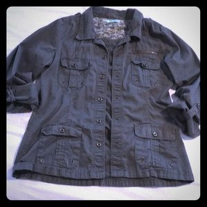 Maurices Military Style Jacket
